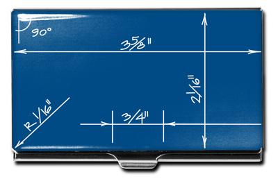 Acme business card case blueprint designed by constantin boym acme business card case blueprint constantin boym colourmoves