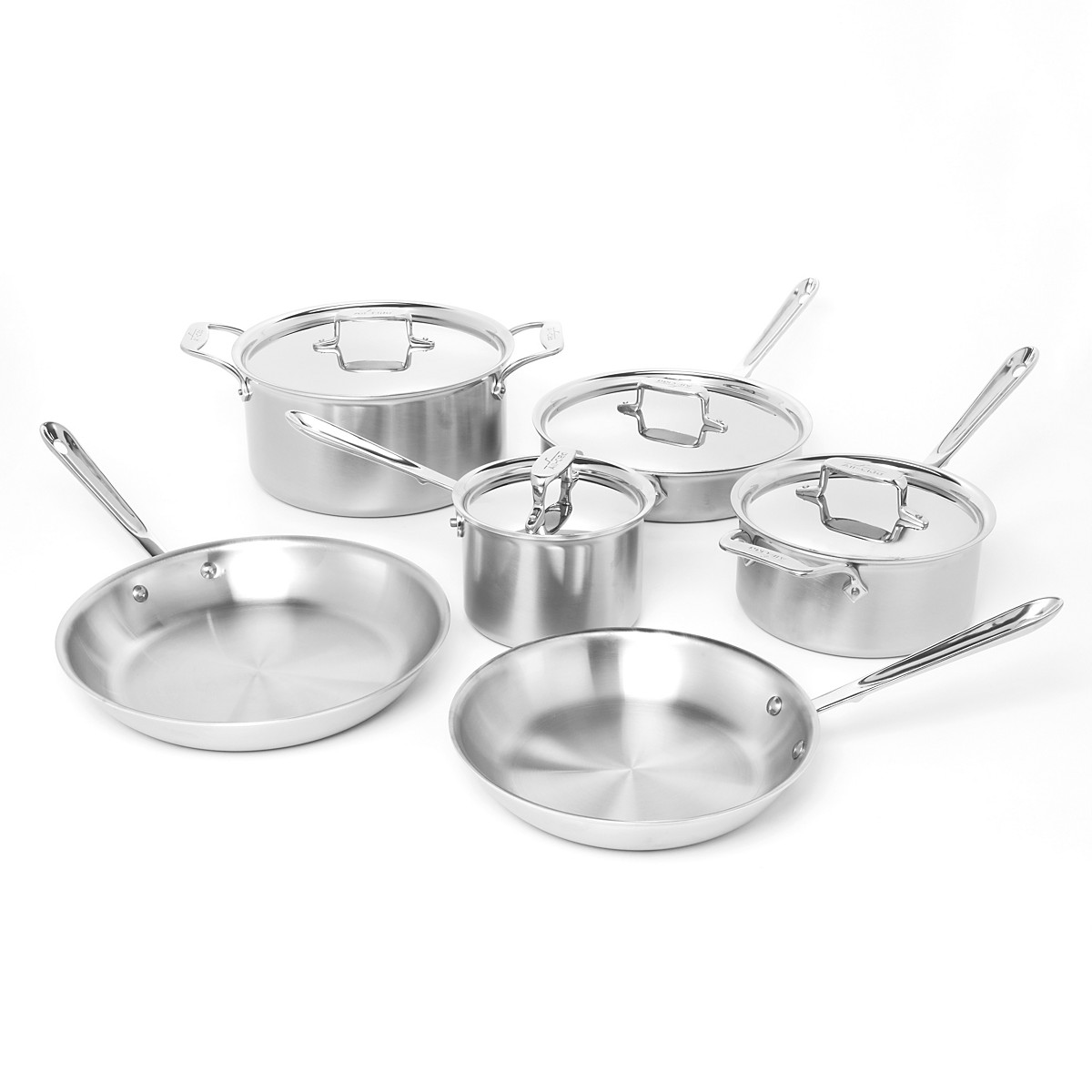 All-Clad - 10 Piece Cookware Set