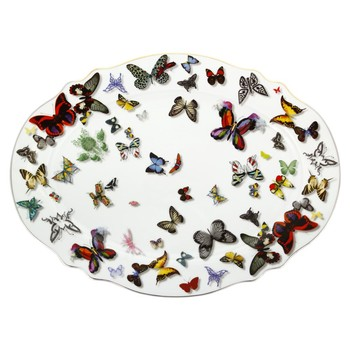 Christian Lacroix - Tales of Porcelain - Butterfly Parade - Large Platter