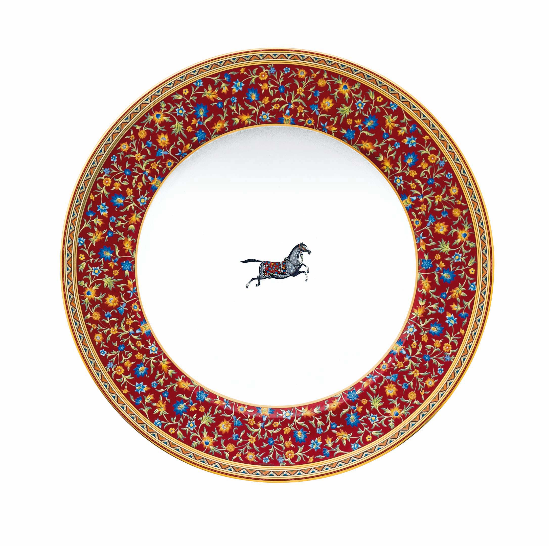 Hermes - Cheval d'Orient - American Dinner Plate