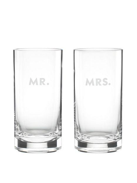 Kate Spade - Darling Point - Highball Glasses, Set of 2