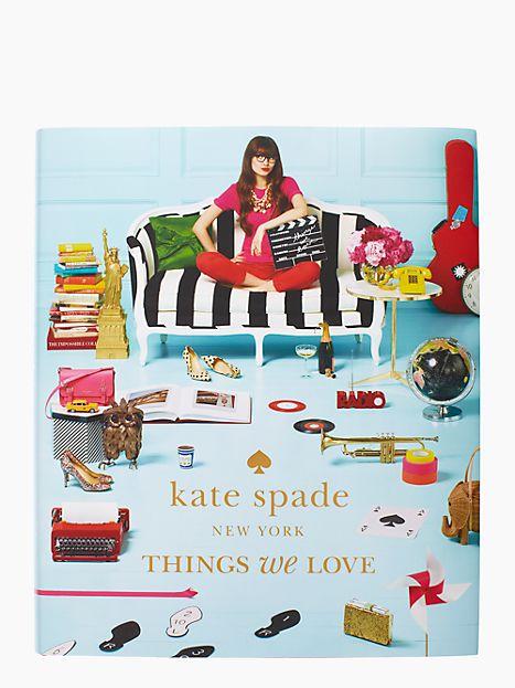 Kate Spade - Things We Love - Coffee Table Book