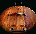 A.Design - Wine Barrel Wood - Cheese Board