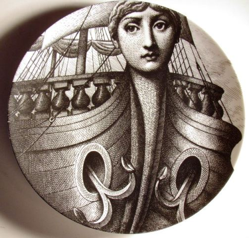 Fornasetti - Theme and Variations - Decorative Plate #177