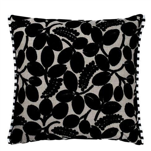 Designers Guild - Calaggio Cushion - Noir