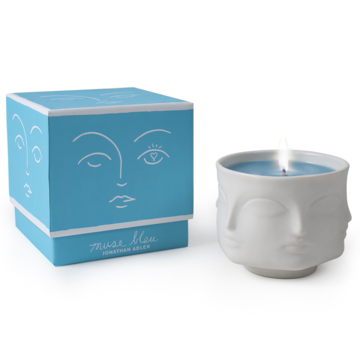 Jonathan Adler - Muse Bleu Candle