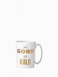 Kate Spade - Simply Sparkling - Mug - As Good As Gold